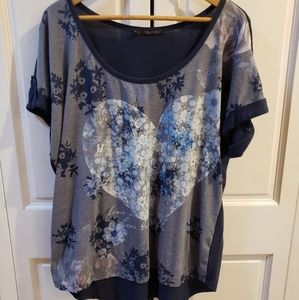 Blue top Maurices+